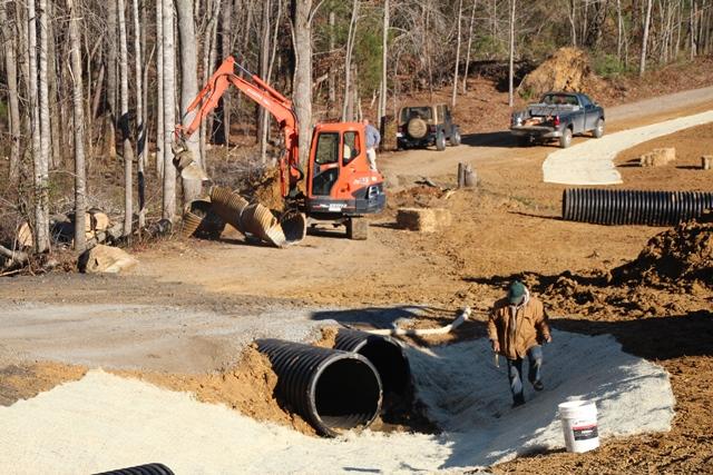 Erosion at Fredericksburg Chapter VA