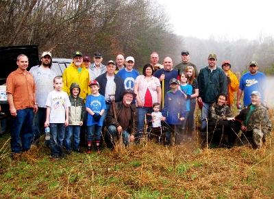 Fredericksburg-Rappahannock Chapter Planting Trees_IWLA