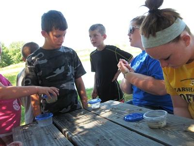 Iowa Three Rivers Chapter Junior Explorers Camp