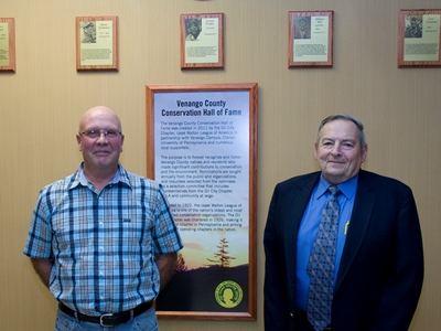 John Hummel and William Lynam_Hall of Fame_Oil City Chapter