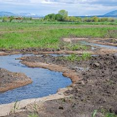 reestablished meanders Alderman WRP project_Montana_credit USDA NRCS