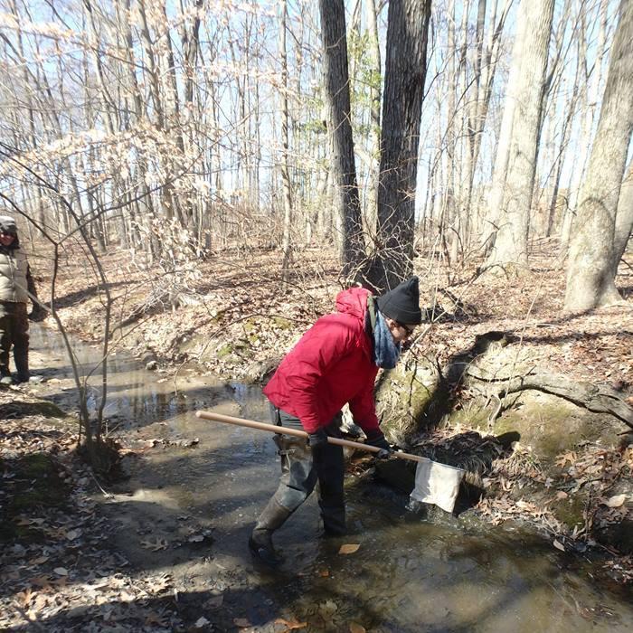 Winter stream monitoring