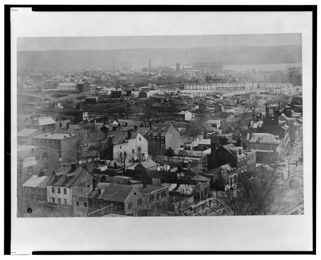 Anacostia River view from US Capitol 1863_credit Library of Congress