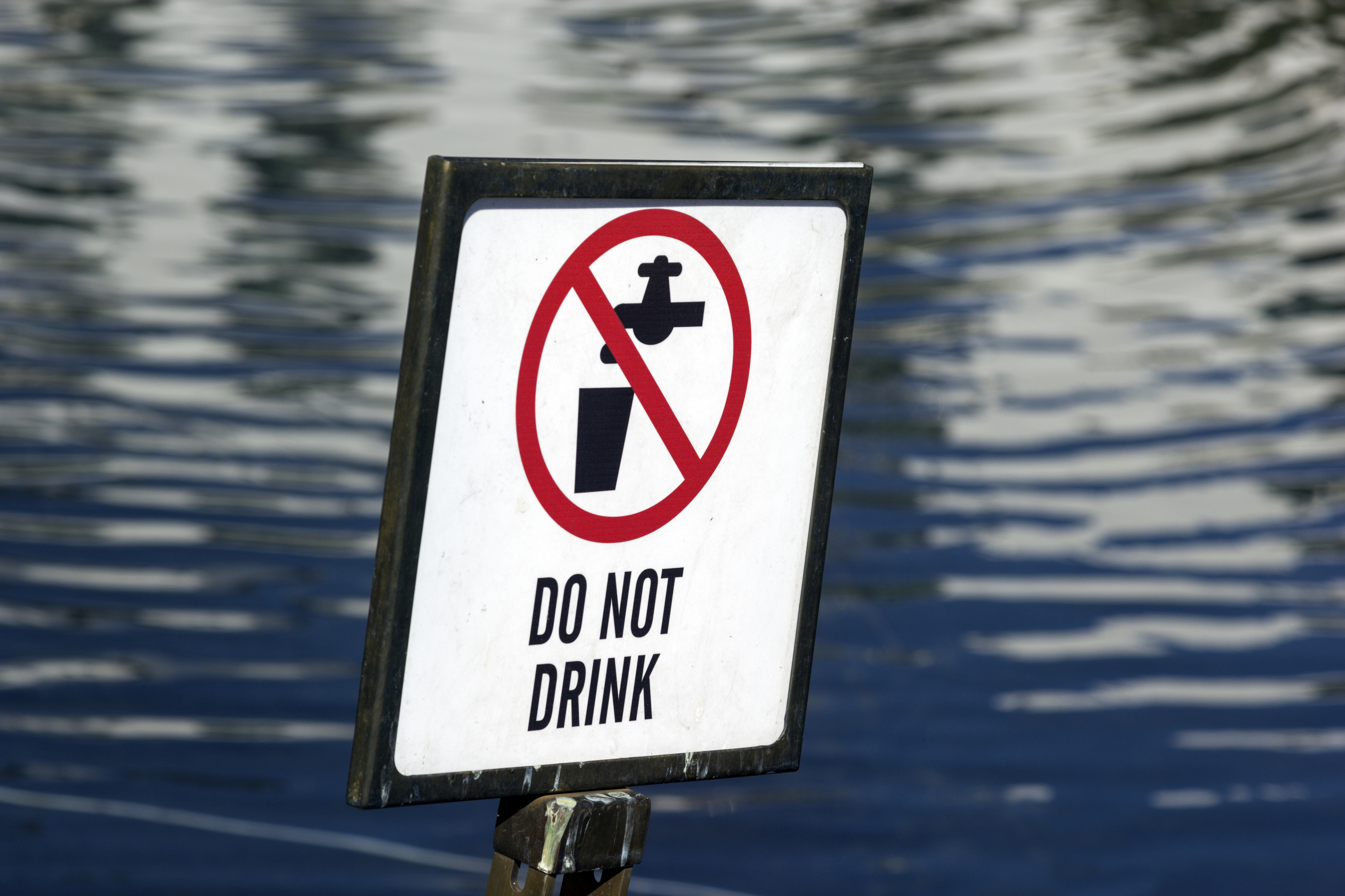 Do Not Drink Water_credit iStock