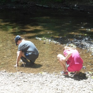 kids playing in stream_300x300