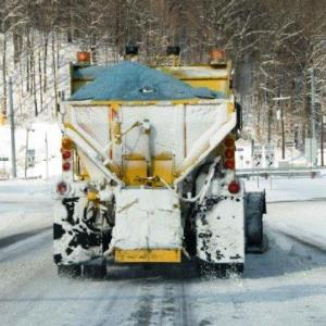 Salt truck image. Credit: iStock.