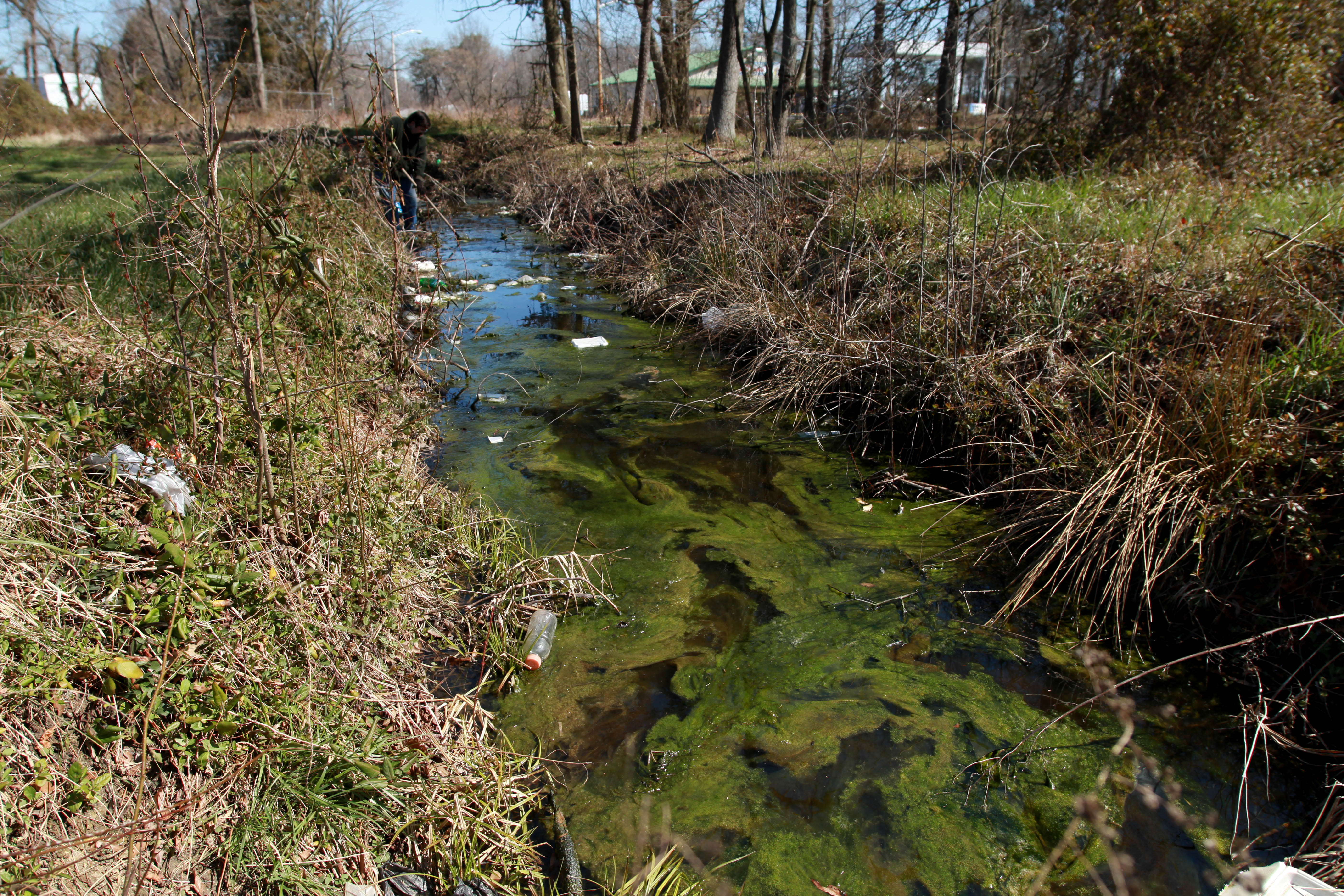 Polluted Stream_credit Chesapeake Bay Program