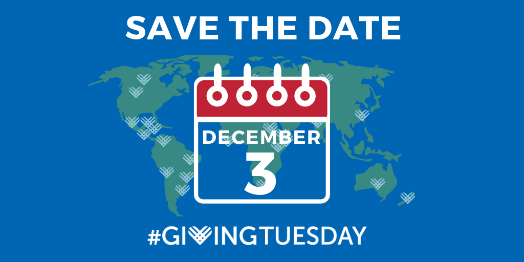 Giving Tuesday - December 3 2019