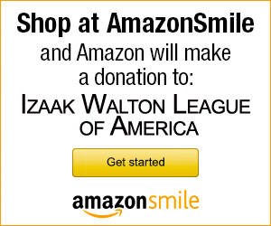 Link to AmazonSmile page for the Izaak Walton League