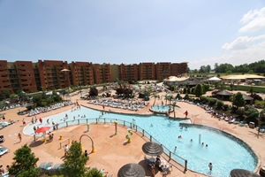 Outdoor Waterpark at Kalahari Resorts