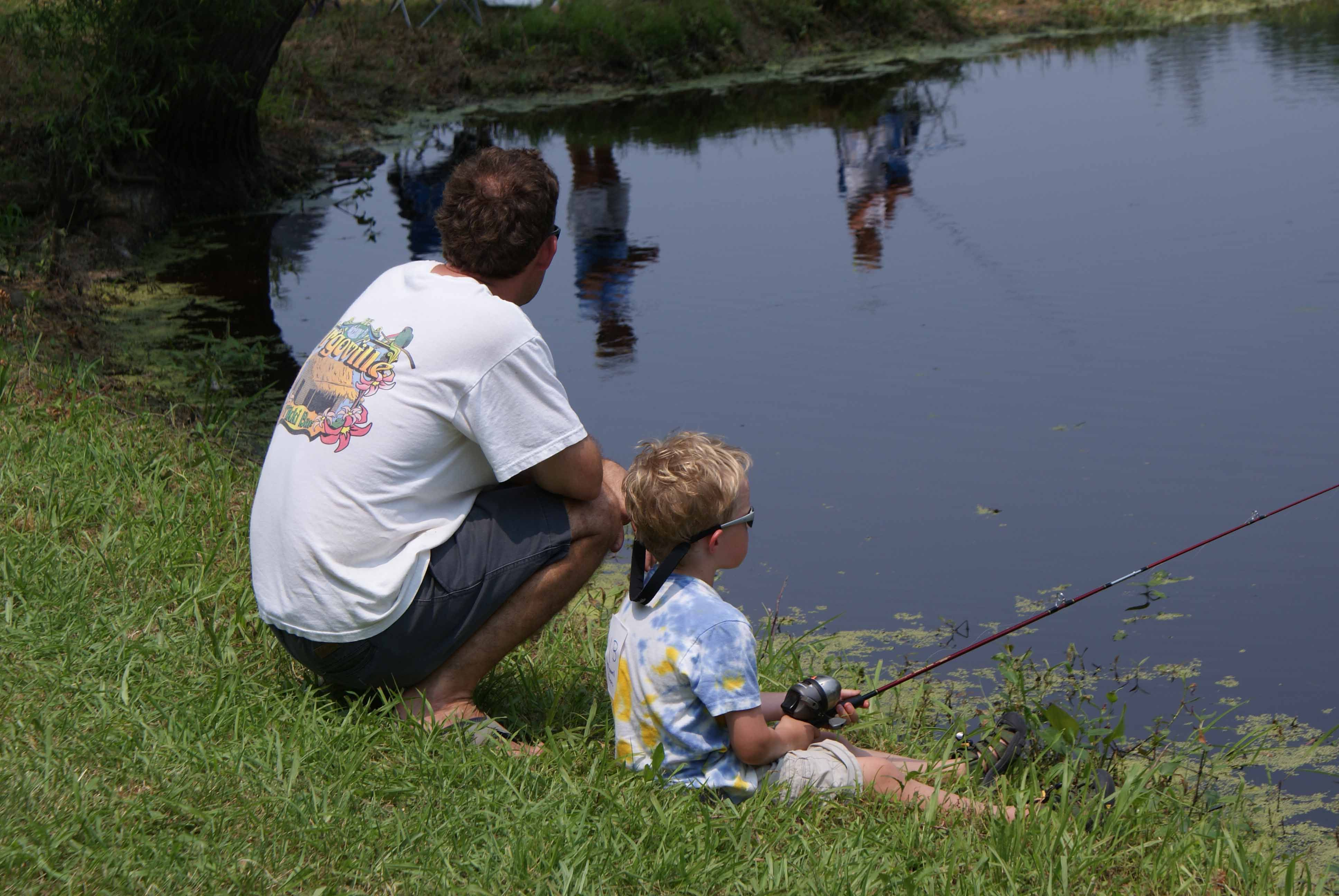Father and Son Fishing_credit National Wildlife Refuge System