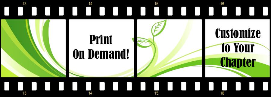 Chapter Brochure Filmstrip