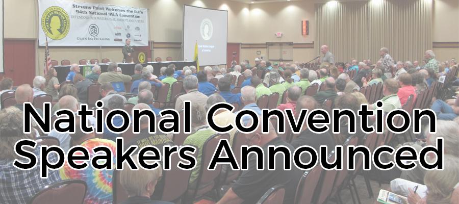 Convention Speakers
