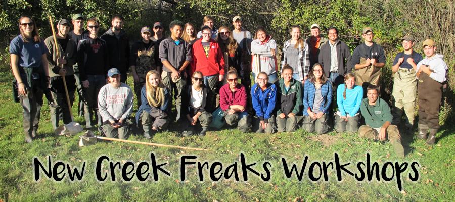 Creek Freak Workshops