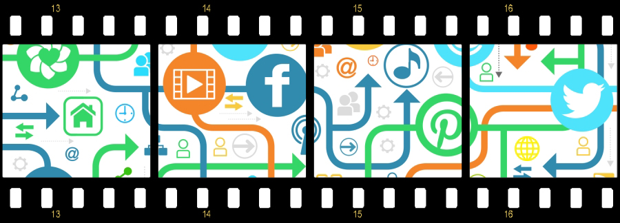Social Media Buzz Filmstrip