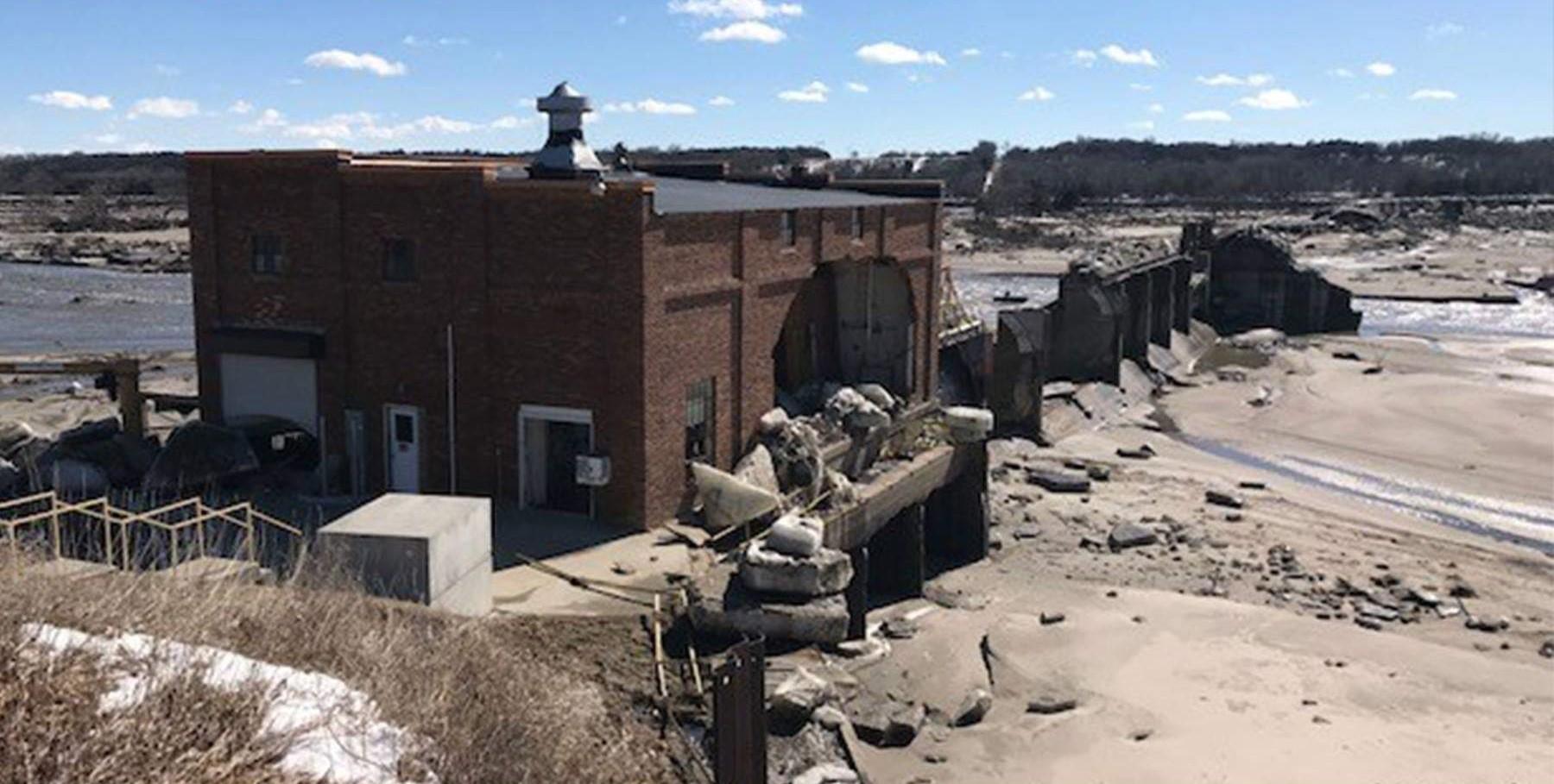 Spencer Dam after