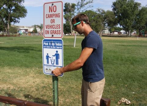 Litter Signs