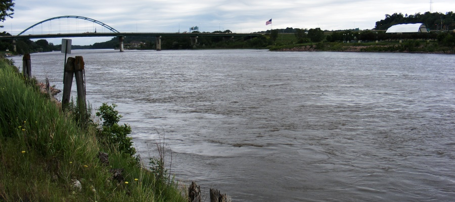Missouri River near Sioux City