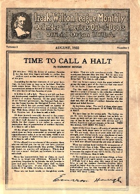 A Time to Halt Article