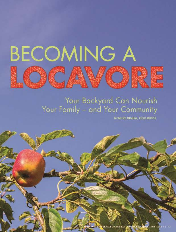 Becoming a Locavore article cover