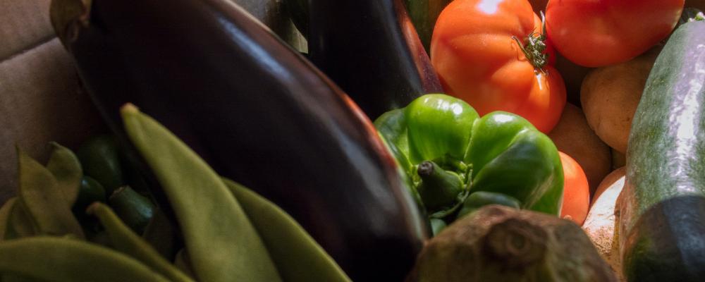 Fresh vegetables - credit Luismi Sanchez