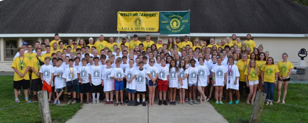Children at Izaak Walton Youth Camp