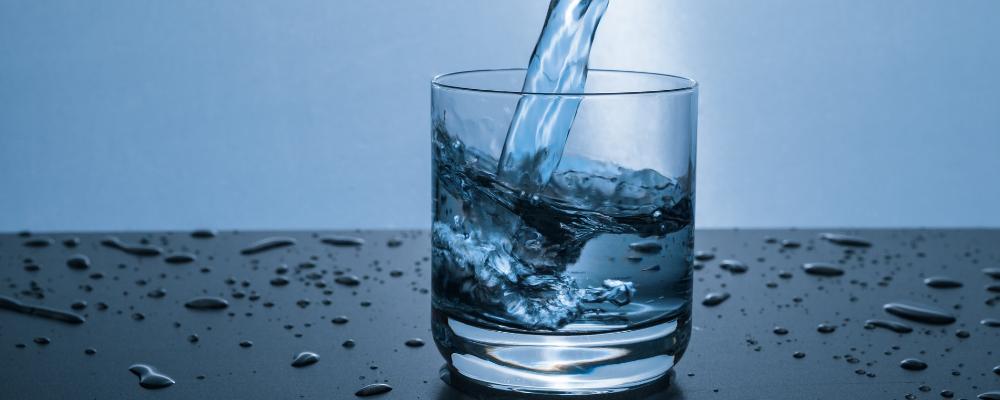 Glass of water - credit Pexels