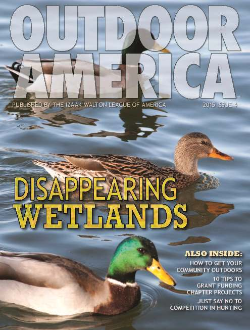 Outdoor America 2015 (Issue 4) cover