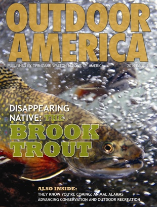 Outdoor America Winter 2014 cover