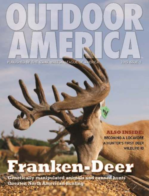 Outdoor America Winter 2015 (Issue 1) cover
