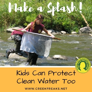 Creek Freaks Make a Splash graphic