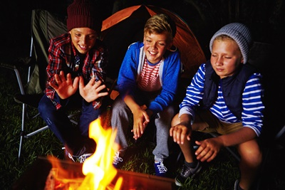 Kids Camping_iStock