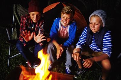 Kids Camping_iStock
