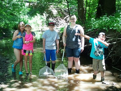 Wayne County Chapter Youth in Creek